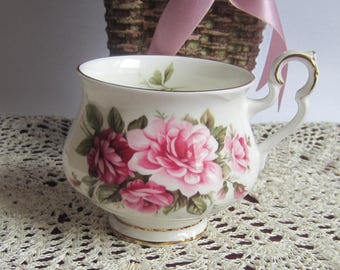 Royal Albert MILTON from the Sonnet Series Bone China Tea Cup Only - Made in England