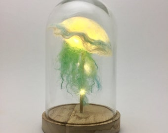 Jellyfish-light in a bell jar_ Ocean