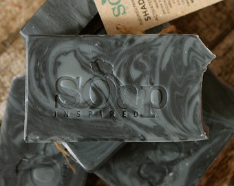 Shades of Grey - Activated Charcoal - Detox Soap - Natural - Mild - Palm Oil Free