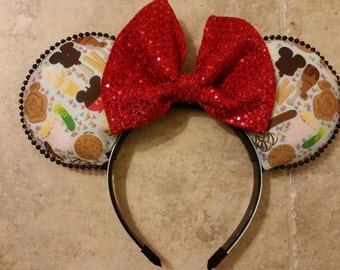 Mickey Snack Inspired Mickey Ears