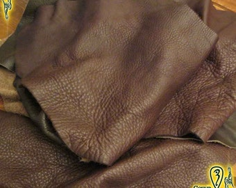 Dark Brown Leather Scrap