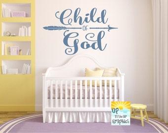 Child of God #1 Vinyl Wall Art