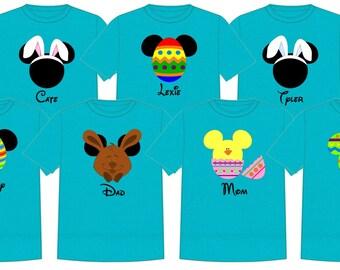 Disney Shirt EASTER SET Disney Vacation Group Shirts
