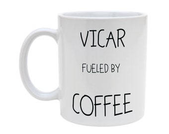 Vicar fueled by coffee