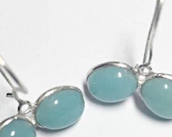 Cute Chalcedony Earrings