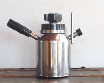 Vintage Elbak Stovetop Espresso Maker Model 19002