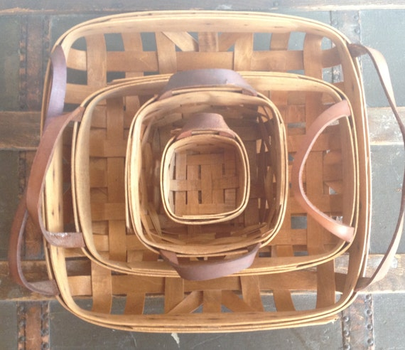 Handcrafted Wood Lattice Baskets / Workshops of Gerald Henn