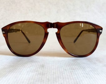 Persol Ratti 806 / 52F Folding Vintage Sunglasses New Old Stock including Persol Case