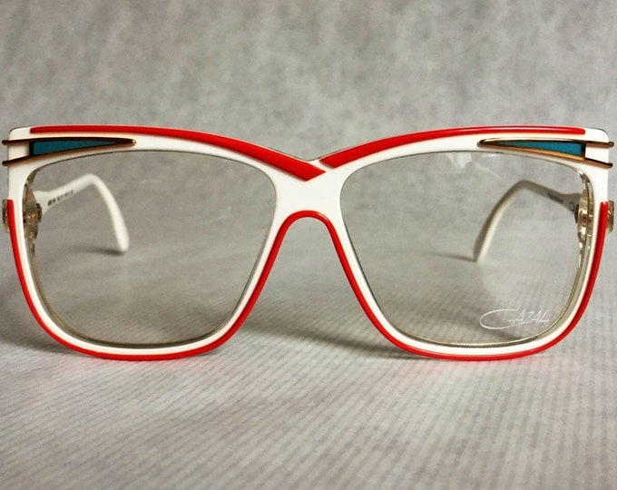 Cazal 168 Col 219 Vintage Eyeglasses Made in West Germany New Old Stock