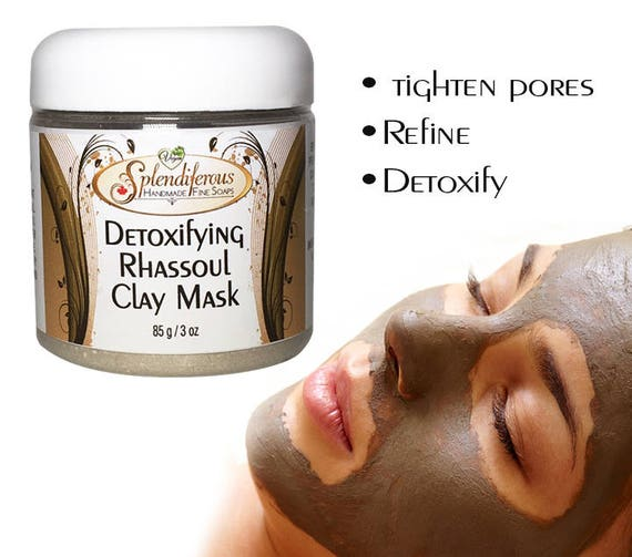 Detoxifying Rhassoul Clay Mask