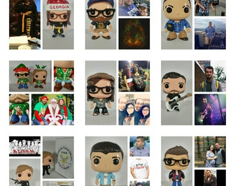 Custom Funko Pop Male or Female with Full Handmade Custom Box **Please Read Item Description For Instructions and Details**