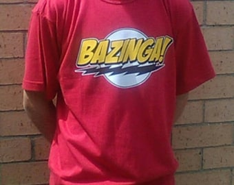 Bazinga Big Bang Theory Sheldon Cooper T-Shirt