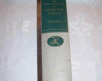 Basic Writings of Sigmund Freud edited by Dr. A.A. Brill Modern Library HC 1938 Vintage