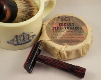 Cherry Pipe Tobacco Glycerin Shaving Soap
