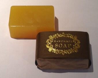 Organic Mandarin Essential Oil Soap