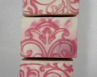 Japanese Cherry Blossom Soap, LatherUpNaturally, Handmade, Homemade, Natural, Cold Process, Cherry, Blossom, Artisan