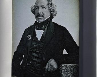 Canvas 24x36; Louis Daguerre Daguerreotype Of  In 1844 By Jean-Baptiste Sabatier-Blot