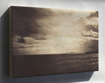 Canvas 24x36; Gustave Le Gray Cloudy Sky, Mediterranean Sea
