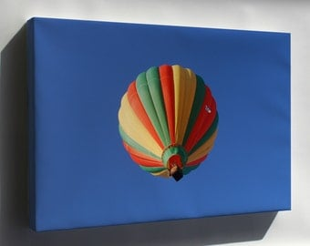 Canvas 24x36; Hot Air Balloon In Flight At The Mid-Hudson Valley Balloon Festival