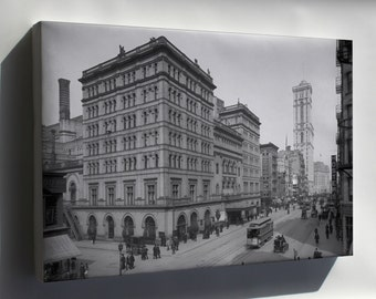 Canvas 16x24; Metropolitan Opera, New York, 1905 At Around The Time Of Mahler'S Conductorship, 1908–09