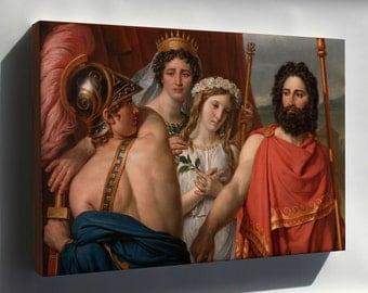 Canvas 16x24; Jacques Louis David The Anger Of Achilles