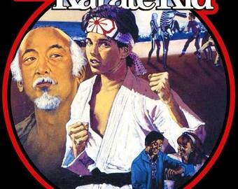 Karate Kid Vintage Image T-shirt