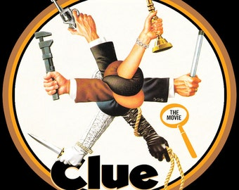 Clue The Movie Vintage Image T-shirt