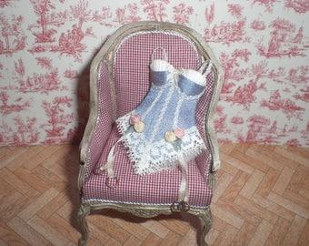Miniature 1/12. Lady corset