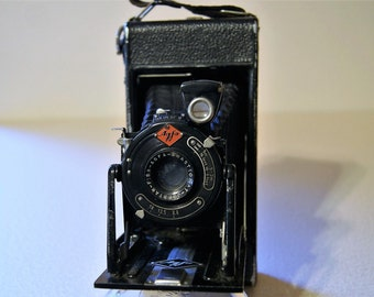 Vintage Agfa Camera - Agfa Billy 1 Jgestar LUXUS - Vintage Billows Camera - 1928-1930