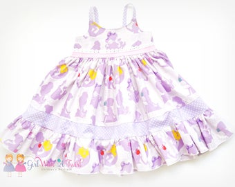 Princess Dress, Purple Girls Dress, Baby Girl Dress, Toddler Twirl Dress, Purple Ruffle Dress, Girls Princess Dress, Dress Up, Party Dress