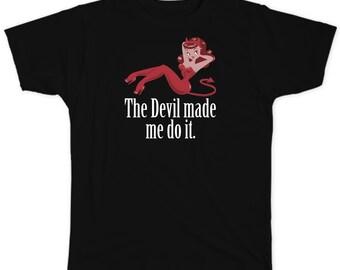 Supernatural   Abaddon Cosplay   Devil Made Me Unisex T-shirt