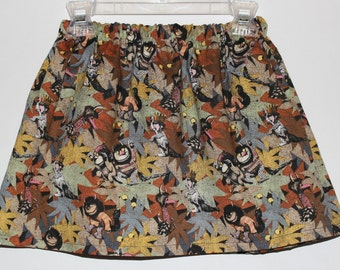 Where the Wild Things Are Skirt-Girls Skirt, Toddler Skirt, Baby Skirt, Where the Wild Things Are Outfit