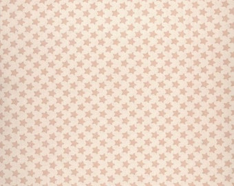 Au maison oilcloth star nude powder asterisk coated cotton