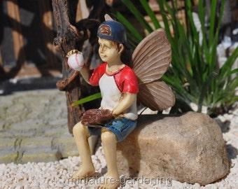 Fairy Jeff for Miniature Garden, Fairy Garden