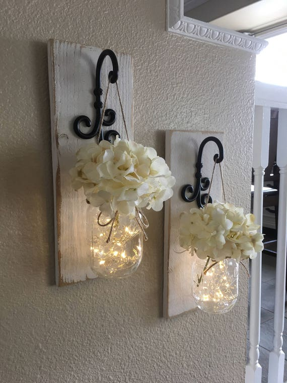 set of mason jar wall sconces mason jar sconce mason jar. Black Bedroom Furniture Sets. Home Design Ideas