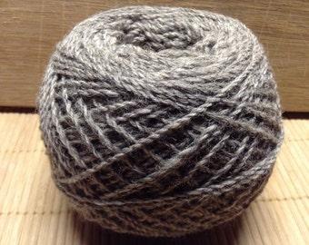 BOOTS Jacob/DorsetX alpaca blend yarn 100g balls 4 ply GREY