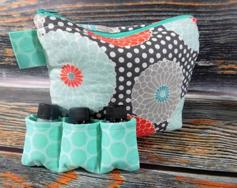 Handmade Essential Oil Bag, essential oils, oils, homeopathic, gift for her, mothers day, mothers day gift, mother's day gift