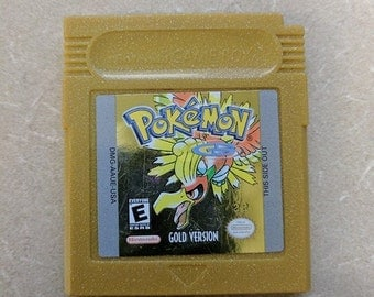 Pokemon Gold Gameboy Color Great shape Works Great