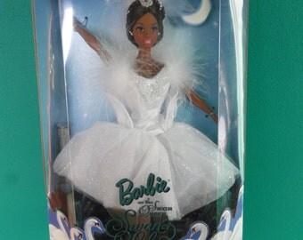 Mattel Barbie as Swan Lake Doll African American vintage New in box