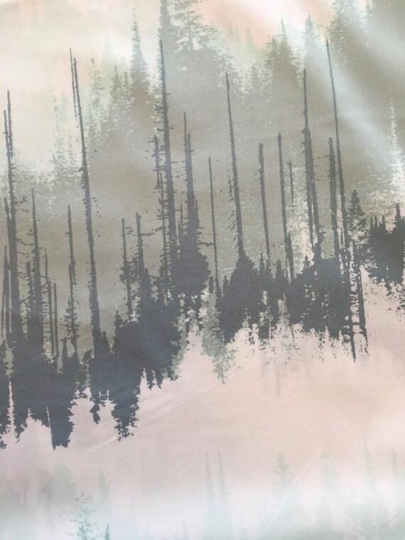 Art Gallery Katarina Roccella Blithe Evergreens Frozen 1/2 yard