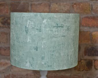 Lamp shades, green lampshade, pastel home decor, green home decor, plain table lamp, bedside lamp, modern ceiling light, plain lampshade