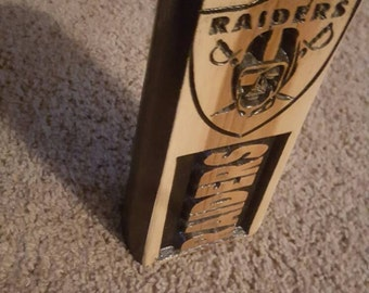 Sports tiki light, nfl, nba, mlb, nhl, University,avaliable, Out door lighting,Man Cave, Sports Fan, Great gift for any occassion