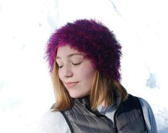 Fuzzy Furry Beanie Hat