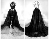 Dark Bat Gown