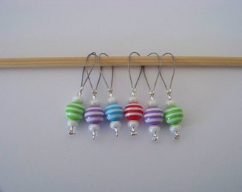 6 cute stitch marker knitters gift