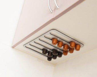 Abacus Pod Rack, a kitchen accessory that holds and dispenses your Nespresso coffee capsules FNS30