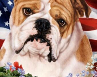 Bulldog Garden Flags