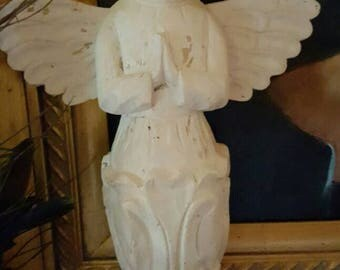 Wall Santos Angel in White
