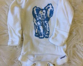 Elephant Baby Boy Bodysuit