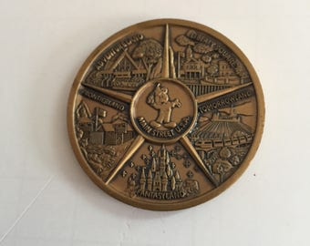Walt Disney World Main Street USA Coin
